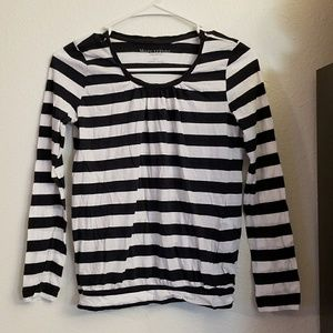 Marc O'Polo Boutique Navy Tee Striped Girls 12
